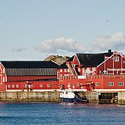 Three weeks aboard the Kong Harald. Hurtigruten, the Coastal Express. Svolvaer in the Lofotens.