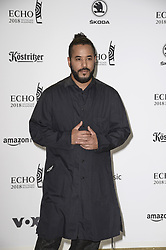 April 12, 2018 - Berlin, Germany - Adel Tawil.Echo Pop Verleihung, Berlin, Germany - 11 Apr 2018.Credit: MichaelTimm/face to face (Credit Image: © face to face via ZUMA Press)