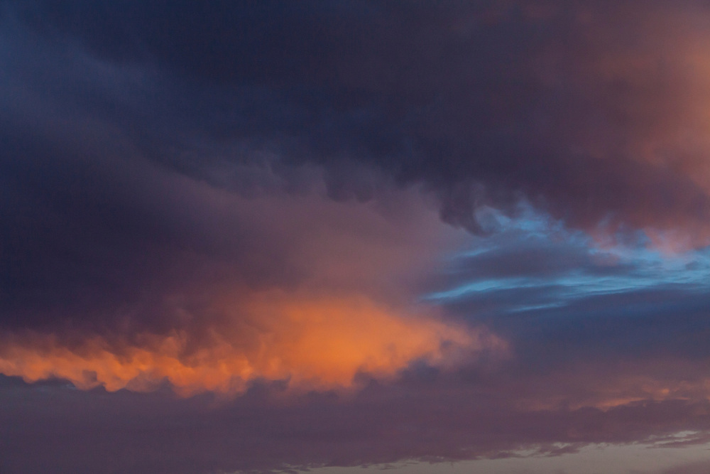 Clouds over San Jose del Cabo at sunset, BCS, Mexico