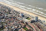 Nederland, Noord-Holland, Zandvoort, 09-04-2014; boulevard en strand.<br /> luchtfoto (toeslag op standard tarieven);<br /> aerial photo (additional fee required);<br /> copyright foto/photo Siebe Swart