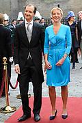 Prinsjesdag 2014 - Aankomst Politici op het Binnenhof.<br /> <br /> Op de foto: