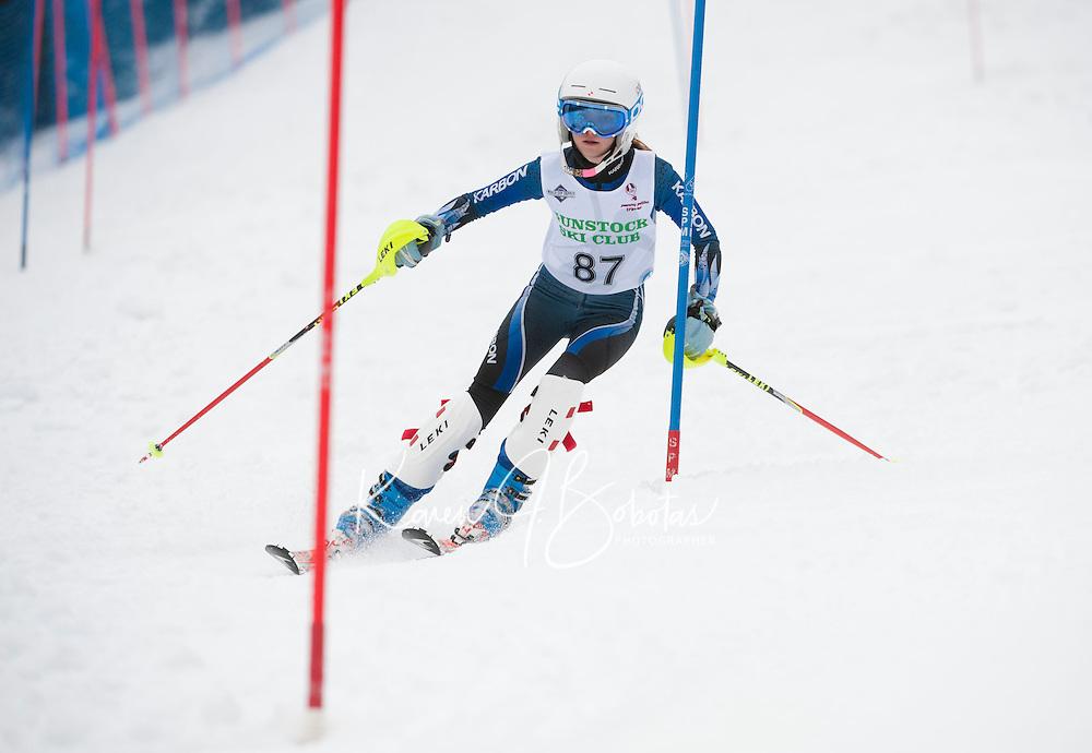 BWL at Gunstock J4 slalom and J5 giant slalom  March 3, 2012.