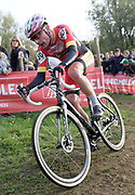 Belgium, November 1 2017: Michael Butler (GBr) (Hargroves Cycles Ridley RT) finished in 29th place in the 2017 edition of the Koppenbergcross.  Copyright 2017 Peter Horrell.