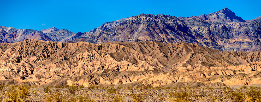 Amargosa Range, Grapevine Mountains in Death Valley