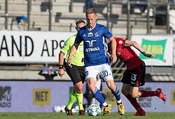 Marcel Rømer (Lyngby Boldklub) under kampen i 3F Superligaen mellem Lyngby Boldklub og FC København den 1. juni 2020 på Lyngby Stadion (Foto: Claus Birch).