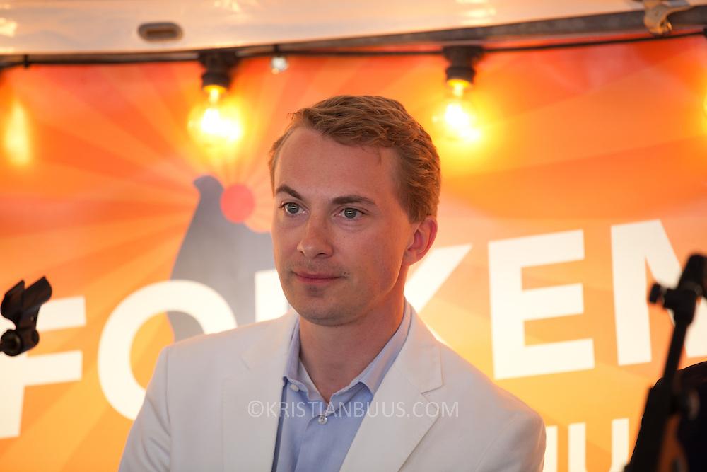 Morten Messerschmidt. Debat og sjov med Claus Andersen, Morten Messerschmidt, Dan Jørgensen og Michael Ulveman.