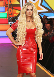 © Licensed to London News Pictures. 03/01/2017. London, UK, Bianca Gascoigne, Celebrity Big Brother: WInter 2017 - Live Launch Show, Photo credit: Brett Cove/LNP