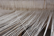 Berilo_MG, Brasil.<br /> <br /> Imagens de trabalhos de artesanato em algodao. Na foto, um trabalho sendo feito em um tear manual em Berilo, Minas Gerais.<br /> <br /> Images craft work in cotton. In this photo, detail of a woman hand working with weaving her quilts will be sold in Berilo, Minas Gerais.<br /> <br /> Foto: LEO DRUMOND / NITRO