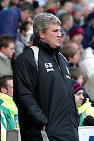 Photo: Dave Linney.<br />Stoke City v Birmingham City. The FA Cup. 19/02/2006.<br />Bham Mgr Steve Bruce