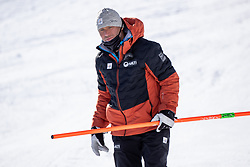 14.02.2021, Cortina, ITA, FIS Weltmeisterschaften Ski Alpin, Abfahrt, Herren, im Bild Hannes Trinkl (FIS Renndirektor Weltcup Ski Alpin Herren) // Hannes Trinkl Race Director World Cup Men Speed Events of FIS in action during the mens Downhill Race of FIS Alpine Ski World Championships 2021 in Cortina, Italy on 2021/02/14. EXPA Pictures © 2021, PhotoCredit: EXPA/ Johann Groder