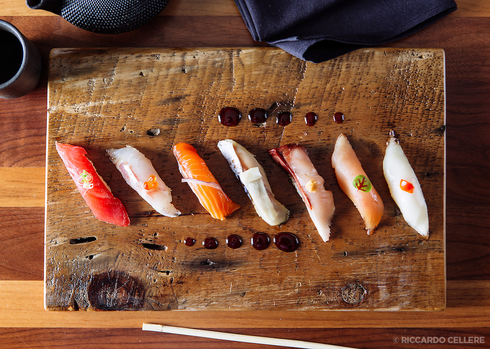 Food photography. Restaurant Kyo, Hotel Place d'Armes Hotel, Montreal. 2013.