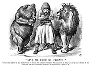 """Save Me From My Friends!""<br /> ""If at this moment it has been decided to invade the Ameer's territory, we are acting in pursuance of a policy which in its intention has been uniformly FRIENDLY to Afghanistan."" - Times, Nov. 21."