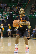 WACO, TX - JANUARY 5: Tyree Griffin #2 of the Oklahoma State Cowboys shoots a three-pointer against the Baylor Bears on January 5, 2016 at the Ferrell Center in Waco, Texas.  (Photo by Cooper Neill/Getty Images) *** Local Caption *** Tyree Griffin