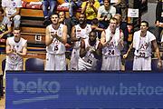 DESCRIZIONE : Supercoppa 2015 Semifinale Olimpia EA7 Emporio Armani Milano - Umana Reyer Venezia<br /> GIOCATORE : Panchina Olimpia EA7 Emporio Armani Milano<br /> CATEGORIA : Ritratto Esultanza Panchina<br /> SQUADRA : Olimpia EA7 Emporio Armani Milano<br /> EVENTO : Supercoppa 2015<br /> GARA : Olimpia EA7 Emporio Armani Milano - Umana Reyer Venezia<br /> DATA : 26/09/2015<br /> SPORT : Pallacanestro <br /> AUTORE : Agenzia Ciamillo-Castoria/GiulioCiamillo