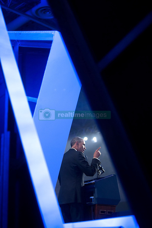 President Barack Obama delivers remarks at the Congressional Hispanic Caucus Institute's 37th Annual Awards Gala dinner at the Walter E. Washington Convention Center in Washington, D.C., Oct. 2, 2014.  (Official White House Photo by Chuck Kennedy)<br /> <br /> This official White House photograph is being made available only for publication by news organizations and/or for personal use printing by the subject(s) of the photograph. The photograph may not be manipulated in any way and may not be used in commercial or political materials, advertisements, emails, products, promotions that in any way suggests approval or endorsement of the President, the First Family, or the White House.
