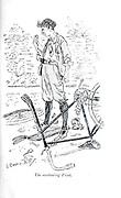 The Overhauling Fiend from the book ' Three men on the bummel ' Illustrated by L. Raven Hill written by Jerome, Jerome K. (Jerome Klapka), 1859-1927. Publisher Bristol [Eng.] J.W. Arrowsmith 1900