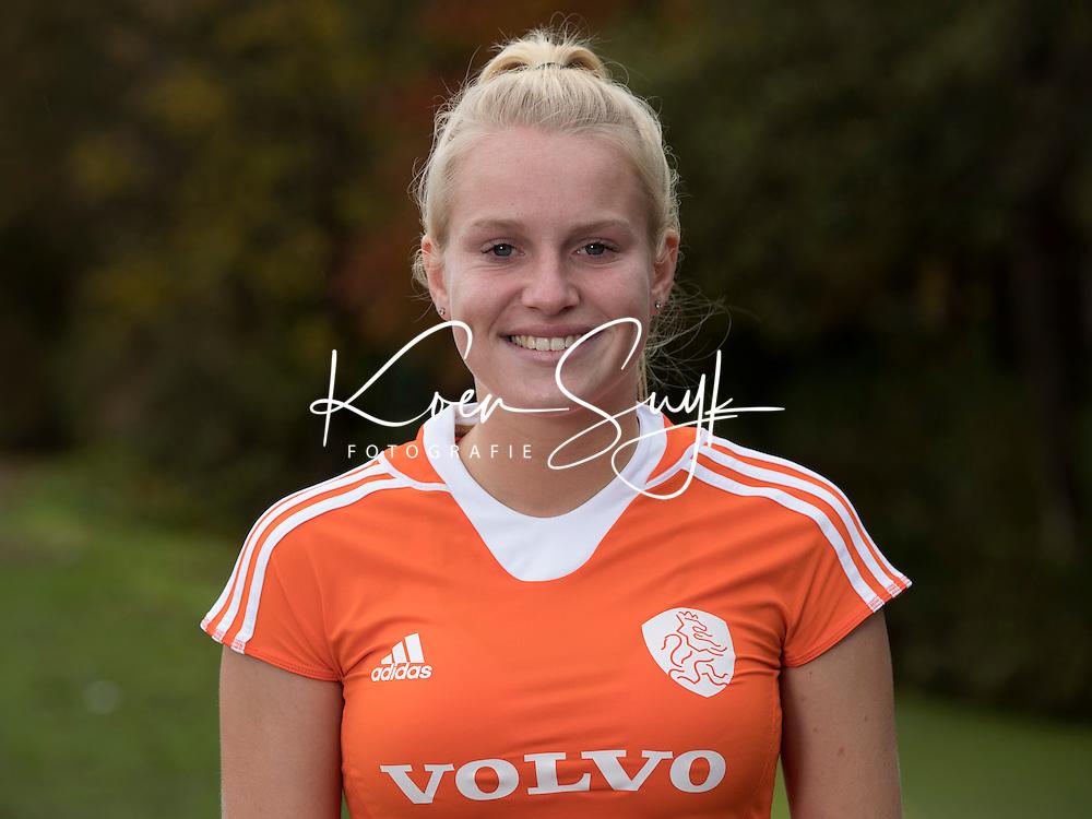 UTRECHT - ILSE KAPELLE. Jong Oranje hockey meisjes -21. COPYRIGHT KOEN SUYK