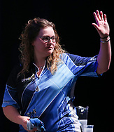 Aileen De Graaf during the BDO World Professional Championships at the O2 Arena, London, United Kingdom on 9 January 2020.
