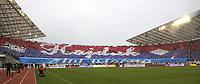 BILDET INNGÅR IKKE I FASTAVTALER. ALL NEDLASTING BLIR FAKTURERT.<br /> <br /> Fotball<br /> Foto: imago/Digitalsport<br /> NORWAY ONLY<br /> <br /> Bildnummer: 07374327  Datum: 13.02.2011  Copyright: imago/Grubisic<br /> Fanchoreographie zum 100 jährigen Vereinsjubiläum von NK Hajduk Split; Herren Fussball Kroatien 1. HNL 2010 2011 Split Jubiläum Vereinsjubiläum 100 Jahre Jähriges vdig xdp 2011 quer o0 Totale Fan Zuschauer Objekte Vereinsfarben Choreographie Schriftzug