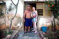 Couple in Gibara, Holguin, Cuba.