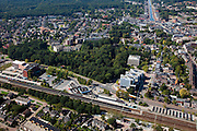 Nederland, Drenthe, Assen, 08-09-2009; omgeving station.surroundings of the railway station.luchtfoto (toeslag); aerial photo (additional fee required); .foto Siebe Swart / photo Siebe Swart