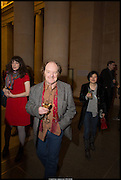 RICHARD WILSON, Tate Britain Commission 2014: Phyllida Barlow, Tate Britain. Millbank. London. 31 March 2014.
