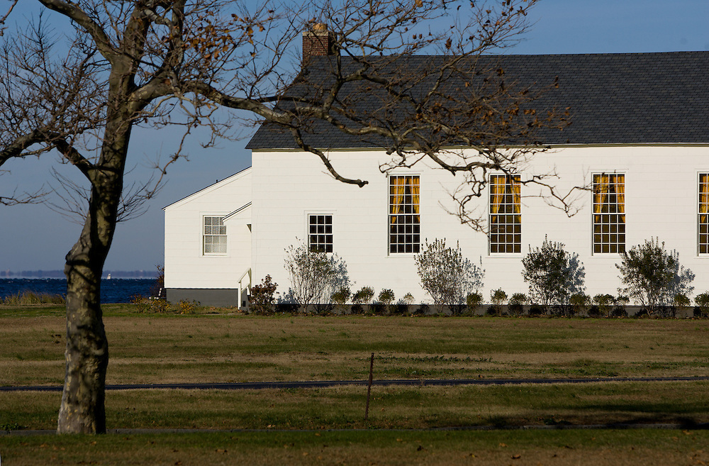 Located in Sandy Hook at Fort Hancock the Historic Chapel in 2006 was converted into an Elegant Reception Facility that seats up to 150 guests or if you choose have your wedding reception and ceremony outdoor in a tent overlooking the Sandy Hook Bay.