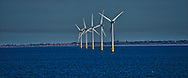 Thames Estuary,  World's largest wind which is located in the Thames Estuary.<br /><br />Photo by Dennis Brack