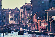 The  Canals of Venice in 1970.<br />Photo by Dennis Brack bb72