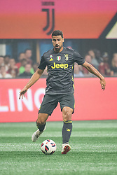 August 1, 2018 - Atlanta, Georgia, United States - Juventus midfielder SAMI KHEDIRA, 6 during 2018 MLS All-Star Game at Mercedes-Benz Stadium in Atlanta, Georgia.  Juventus F.C. defeats  MLS All-Stars defeat  1 to 1  (Credit Image: © Mark Smith via ZUMA Wire)