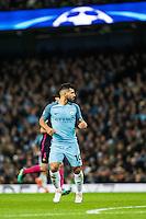 2016.11.01 Manchester<br /> Pilka nozna Liga Mistrzow sezon 2016/2017<br /> Manchester City - FC Barcelona<br /> N/z Sergio Aguero<br /> Foto Sebastian Frej / PressFocus<br /> <br /> 2016.11.01 Manchester<br /> Football Champions League season 2016/2017<br /> Manchester City - FC Barcelona<br /> Sergio Aguero<br /> Credit: Sebastian Frej / PressFocus