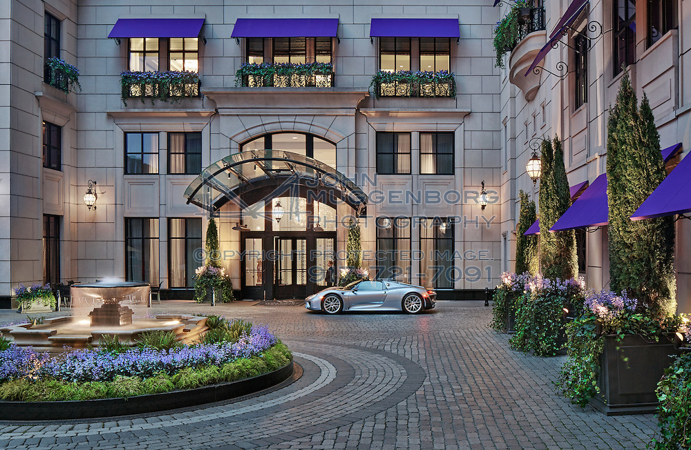 The Waldorf Astoria in Chicago photographed by John Muggenborg.