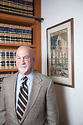 Presiding Justice Anthony Kline, First District Court of Appeals...photo by Jason Doiy..8-23-2012