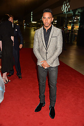 LEWIS HAMILTON at the GQ Men of The Year Awards 2016 in association with Hugo Boss held at Tate Modern, London on 6th September 2016.