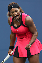 11-09-2011 TENNIS: US OPEN: NEW YORK<br /> Serena Williams USA  during the final<br /> *** NETHERLANDS ONLY***<br /> ©2011-FRH-EXPA/ Newspix/ Marek Janikowski