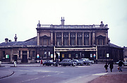 Green Park railway station, Bath, Somerset, England Uk in the 1960s
