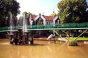 Gołdap, 2008-07-11. Park na Placu Zwycięstwa, Gołdap