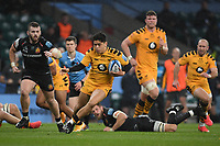 Rugby Union - 2019 / 2020 Gallagher Premiership - Final - Wasps vs Exeter Chiefs - Twickenham<br /> <br /> Wasps' Jacob Umaga scores his sides try.<br /> <br /> COLORSPORT/ASHLEY WESTERN