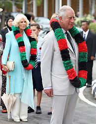The Prince of Wales and Duchess of Cornwall attend a Gurkha Reception at the Edinburgh Palace in Bandar Seri Begawan, Brunei.