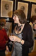 Lady Anne Carr, Matthew Carr exhibition opening, Marlborough Fine Art, 25 November 2003. © Copyright Photograph by Dafydd Jones 66 Stockwell Park Rd. London SW9 0DA Tel 020 7733 0108 www.dafjones.com