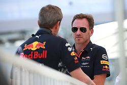June 23, 2017 - Baku, Azerbaijan - Motorsports: FIA Formula One World Championship 2017, Grand Prix of Europe, ..Christian Horner (GBR, Red Bull Racing) (Credit Image: © Hoch Zwei via ZUMA Wire)