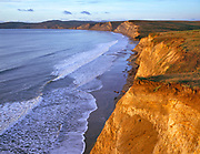 Cliffs atDrakes Beach,Point Reyes National Seashore, California