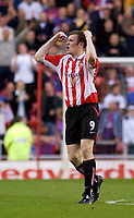 Photo. Jed Wee, Digitalsport<br /> NORWAY ONLY<br /> <br /> Sunderland v Crystal Palace. <br /> Division 1 Playoffs, second leg. 17/05/2004.<br /> Sunderland's Kevin Kyle celebrates scoring the first of his side's first half goals.