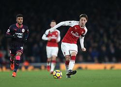 29 November 2017 London : Premier League Football : Arsenal v Huddersfield Town - Mesut Ozil in action for Arsenal<br /> .(photo by Mark Leech)