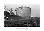 Martello Tower at Sandycove, County Dublin in which James Joyce briefly lived in 1904.<br />