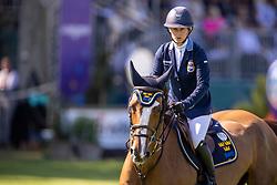 Augustsson Zanotelli Angelica, SWE, Kalinka van de Nachtegaele<br /> European Championship Riesenbeck 2021<br /> © Hippo Foto - Dirk Caremans<br />  03/09/2021