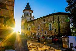 Church of Notre-Dame de l'Assomption, Ainhoa, Basque Country, France