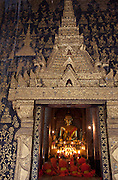 Wat Xieng Thong in Luang Prabang, Laos. Buddhist temple complex.