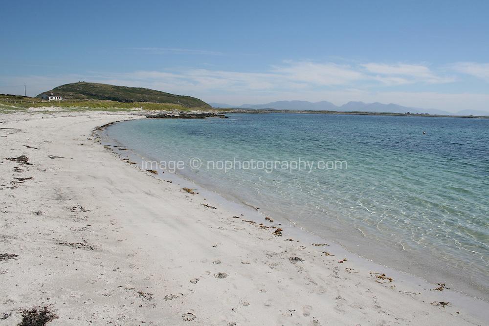 Beach near Ballyconneely Connemara County Galway Ireland