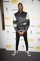 Stefan Pierre Tomlin at the Fashion show organised by Helen Georgio from Buzz Talent for up and coming designers. Let It bee Mode showed diversity in the fashion industry. Connaught Rooms London. 16.02.20